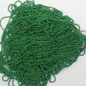 leaf green ball chain