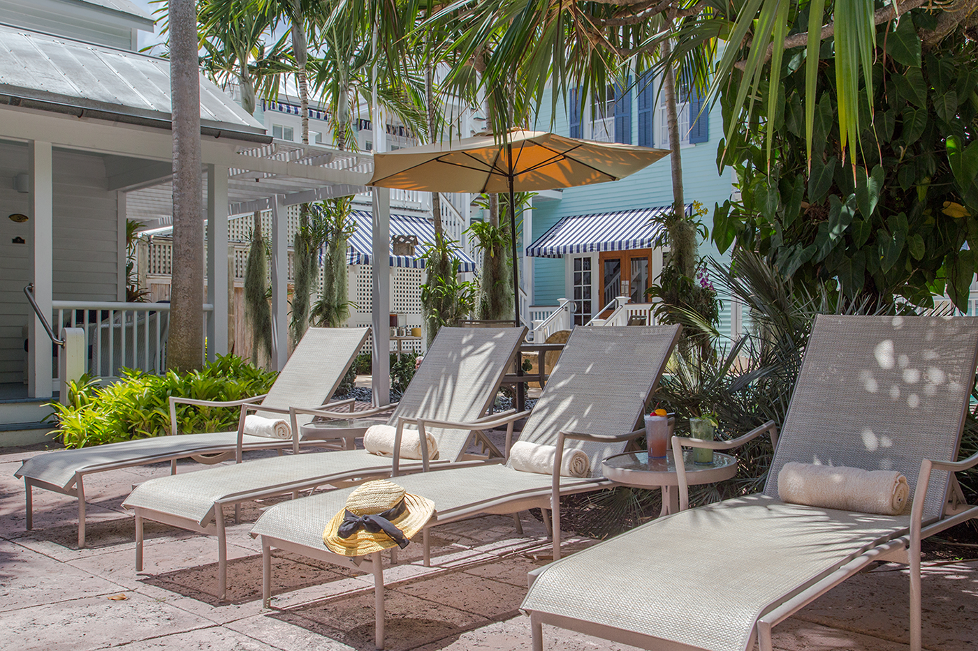 key west marquesa hotel pool
