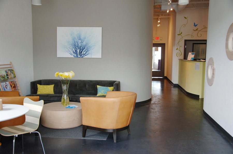 Bean Work Play Cafe, lobby, co-work space, Reggio-Emilia