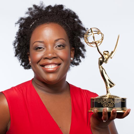 Joyce Brewer, Atlanta Mom Blogger with Mommy Talk Show, Emmy award-winning journalist, Oprah interview, talk show host, ebook author