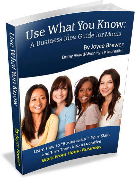 Use What You Know: A Business Idea Guide for Moms ~ MommyTalkShow.com