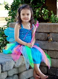 Enchanted Kidz, Tutu dress, dress with wings, princess dress, last-minute Halloween Costumes