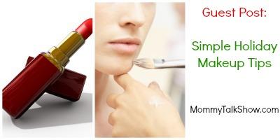 holiday makeup, makeup tips, simple makeup, keep it simple makeup