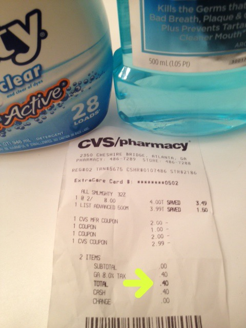 All Mouth Wash CVS