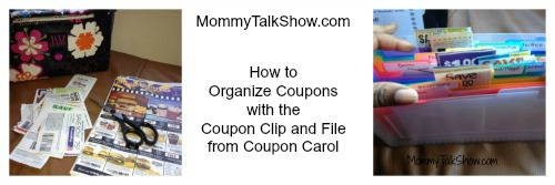 How to Organize Coupons with the Coupon Clip and File ~ MommyTalkShow.com