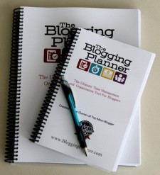 Video review: Introducing The Blogging Planner Part !