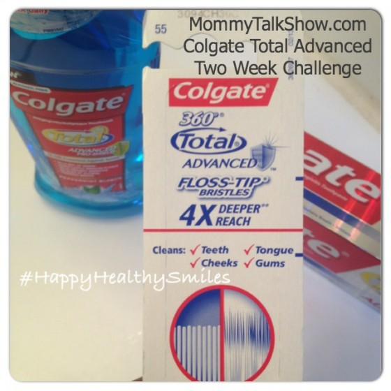 Colgate Total Advanced Two Week Challenge