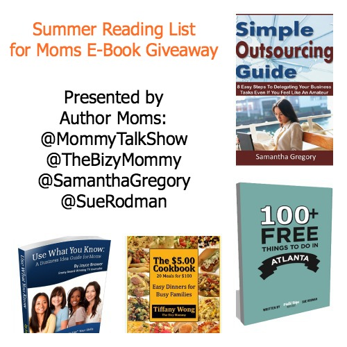Summer Reading List for Moms E-Book #Giveaway