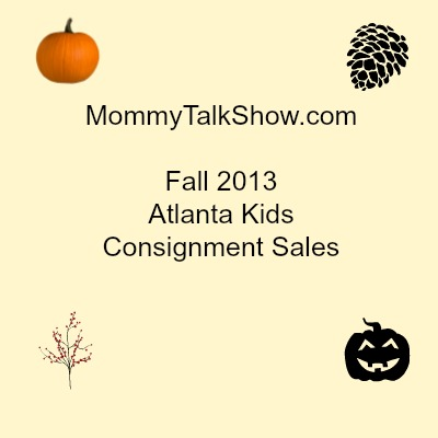 Fall 2013 Kids Consignment Sales