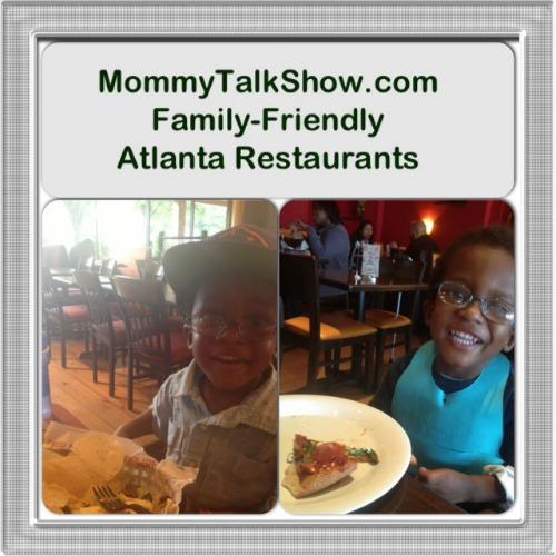 Family-Friendly Atlanta Restaurants ~ MommyTalkShow.com