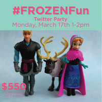 #FROZENFun Twitter Party March 17th ~ MommyTalkShow.com