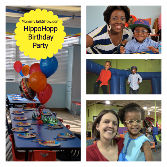 HippoHopp Birthday Party ~ MommyTalkShow.com