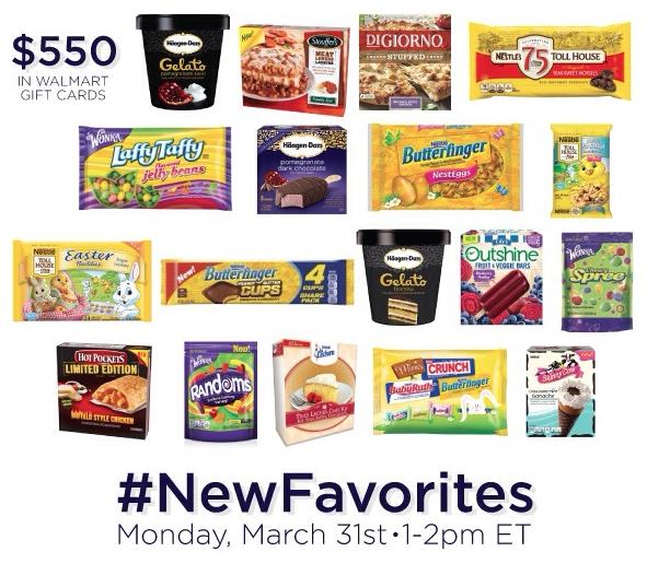 #NewFavorites Twitter Party 3/31 ~ MommyTalkShow.com