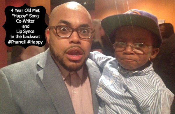 Video: 4 Year Old Sings Happy Song #Pharrell #Happy