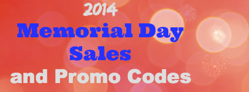 2014 Memorial Day Sales and Promo Codes ~ MommyTalkShow.com