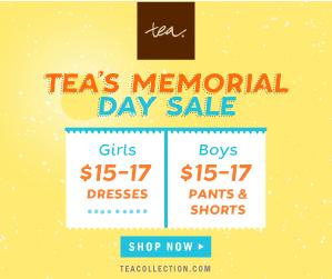 Tea Collection Memorial Day Sale ~ MommyTalkShow.com