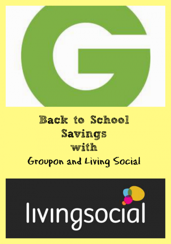Back to School Savings with Groupon and Living Social ~ MommyTalkShow.com