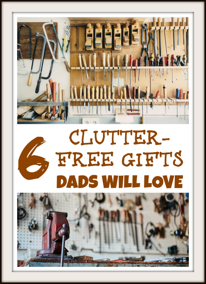 6 Clutter-Free Gifts Dads Will Love ~ MommyTalkShow.com