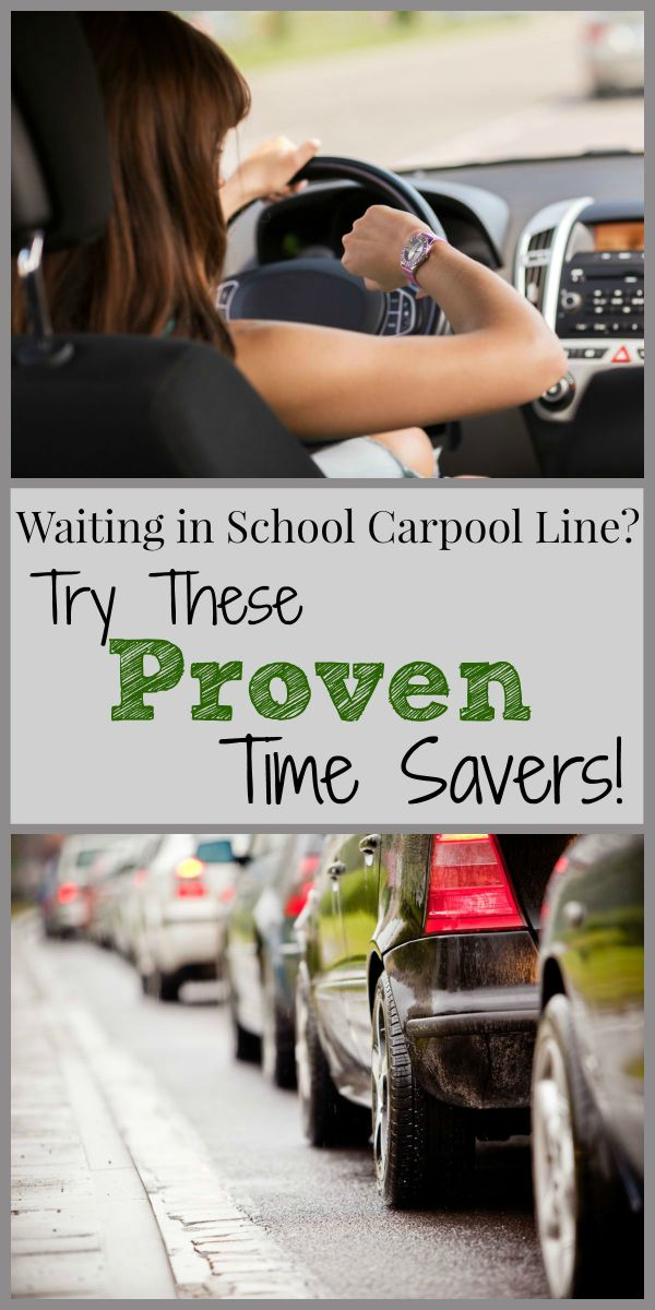 Waiting in the School Carpool Lane? Try These Proven Time Savers