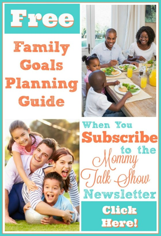 I created a family goals planner you can download for free. Set goals for your family's travel and education plans.