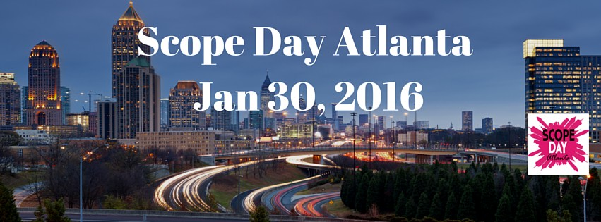 Scope Day Atlanta 2016 is January 30th. A series of influencers will go live on Periscope all day from area attractions. Follow #ScopeAtlanta