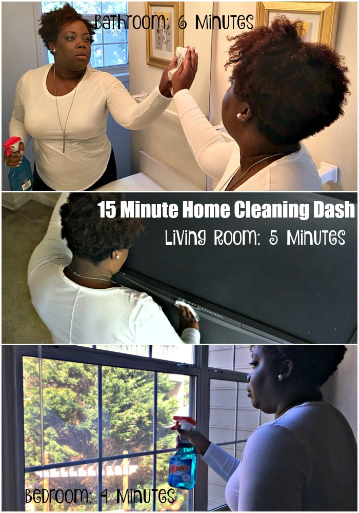 Windex Cleaning Collage