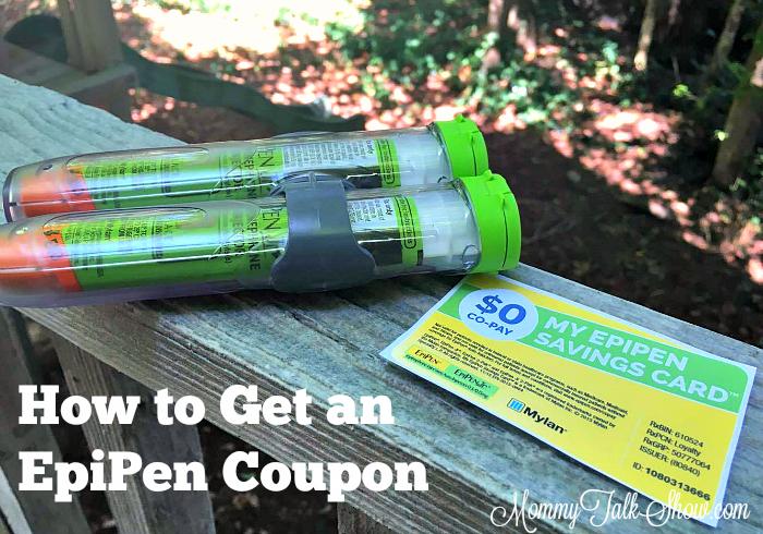 Get EpiPen Coupon