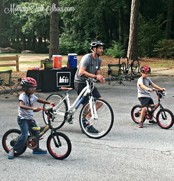 Teach a Child to Ride a Bike