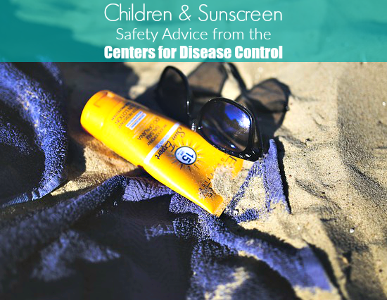 children and sunscreen