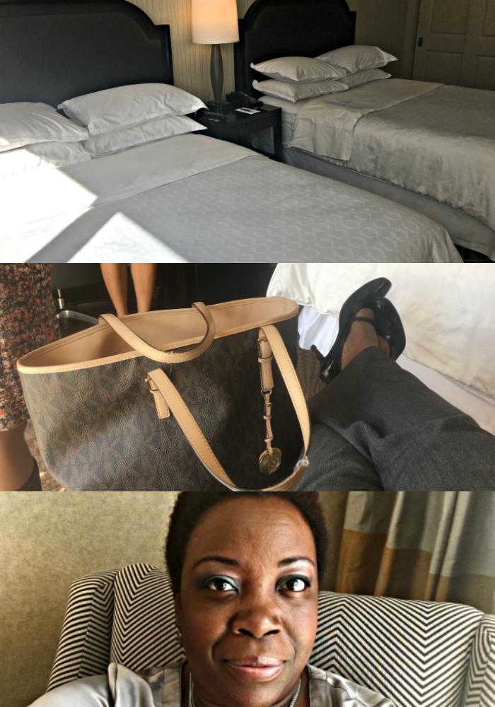 Sheraton Atlanta Hotel Room