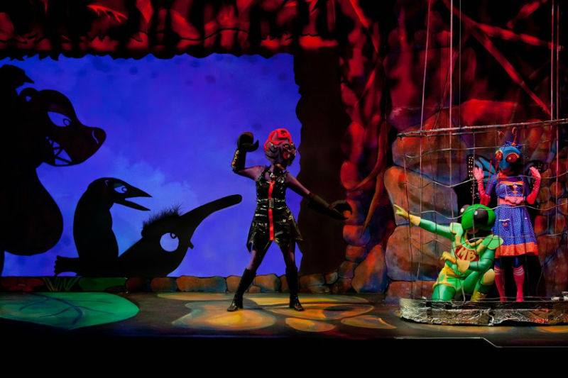 Mighty Bug Puppet Show
