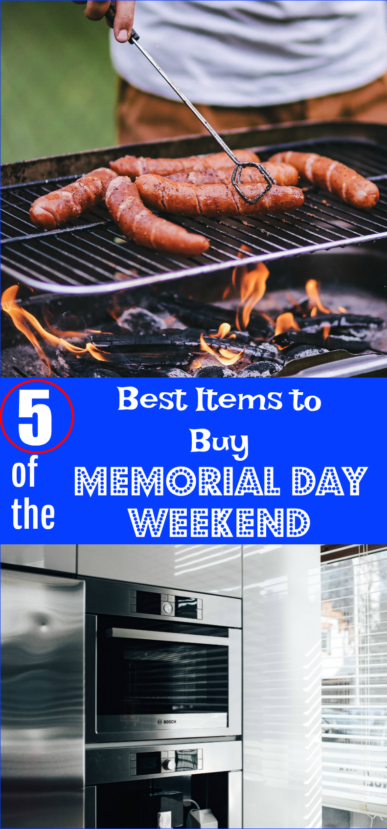 5 of the Best Items to Buy Memorial Day Weekend