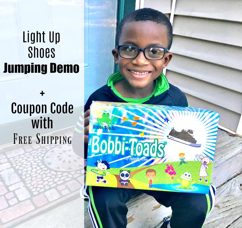 [VIDEO] Bobbi-Toads Kids Light Up Shoes Review