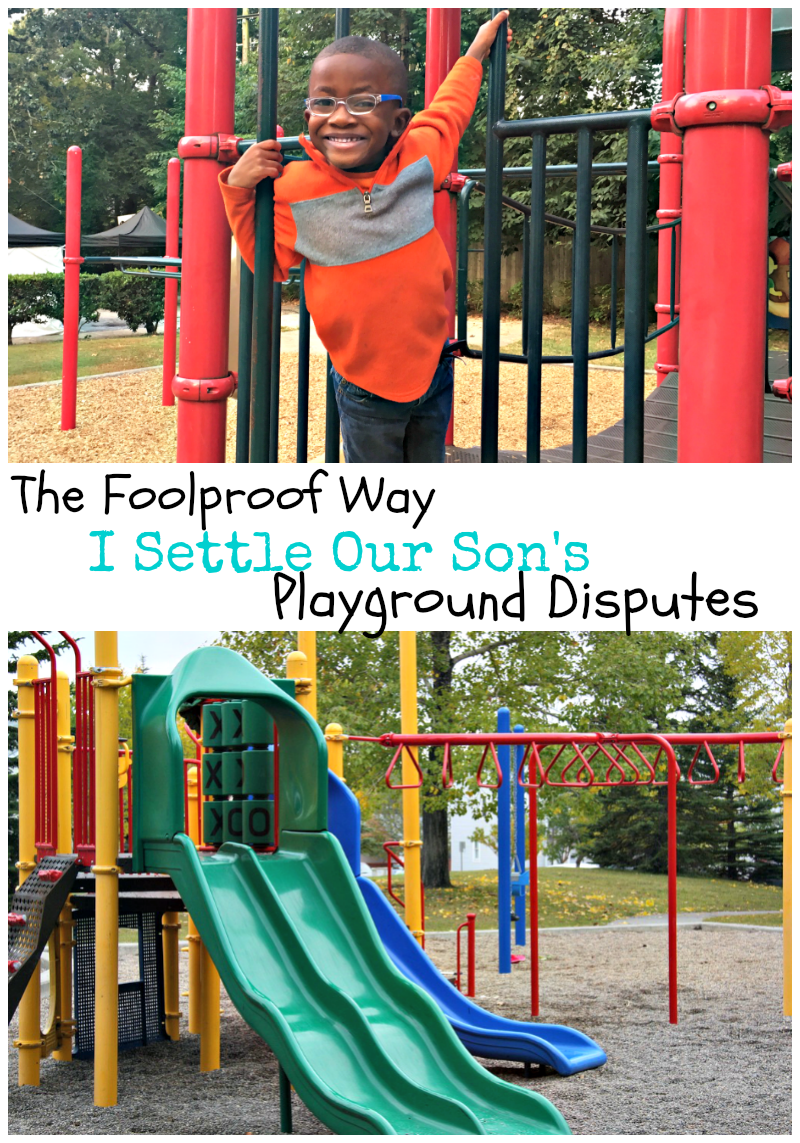 The Foolproof Way I Settle Our Son's Playground Disputes