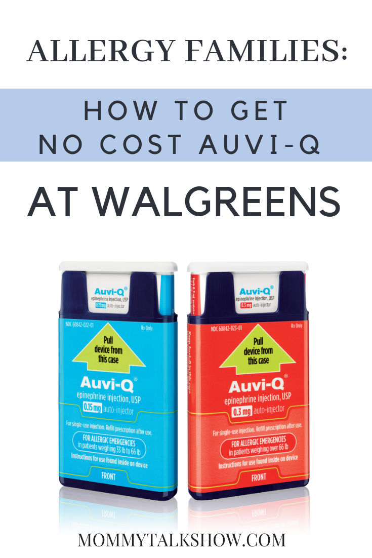 Allergy Families: No Cost AUVI-Q Auto-Injector Now Available at Walgreens