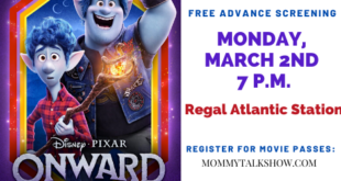 Atlanta ONWARD Pixar Movie Screening