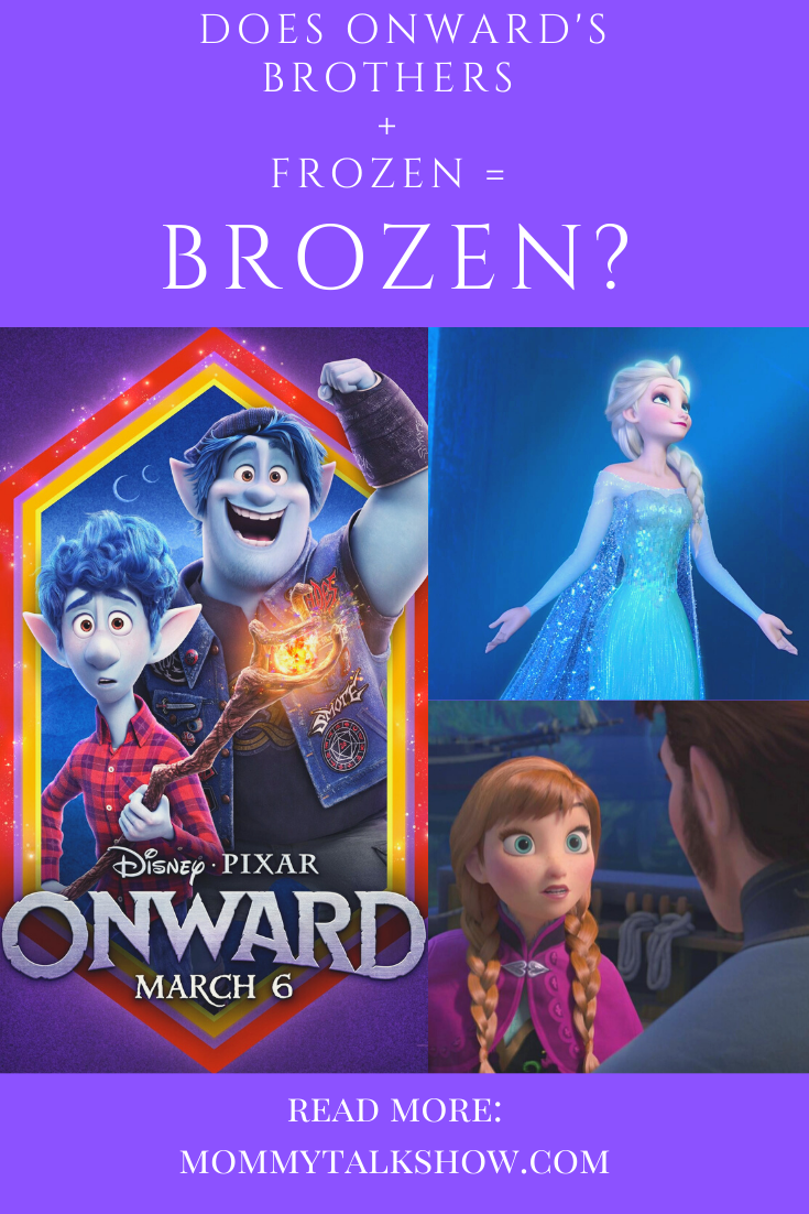 """Is it Fair to Compare """"Onward"""" to """"Frozen"""" and Call it """"Brozen""""? #PixarOnward"""