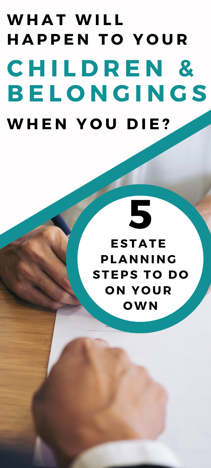 5 Estate Planning Steps You Can Handle On Your Own