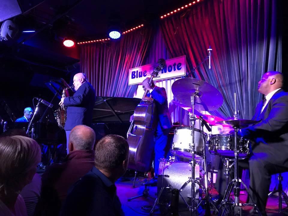 with McCoy Tyner, NYC