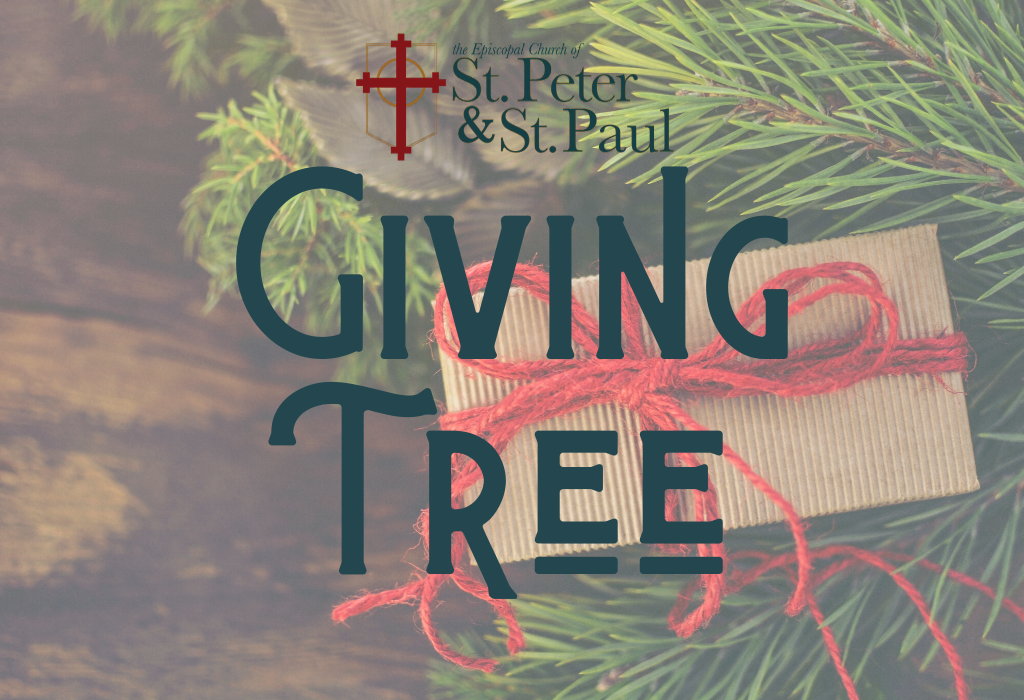 MUST Ministries Giving Tree