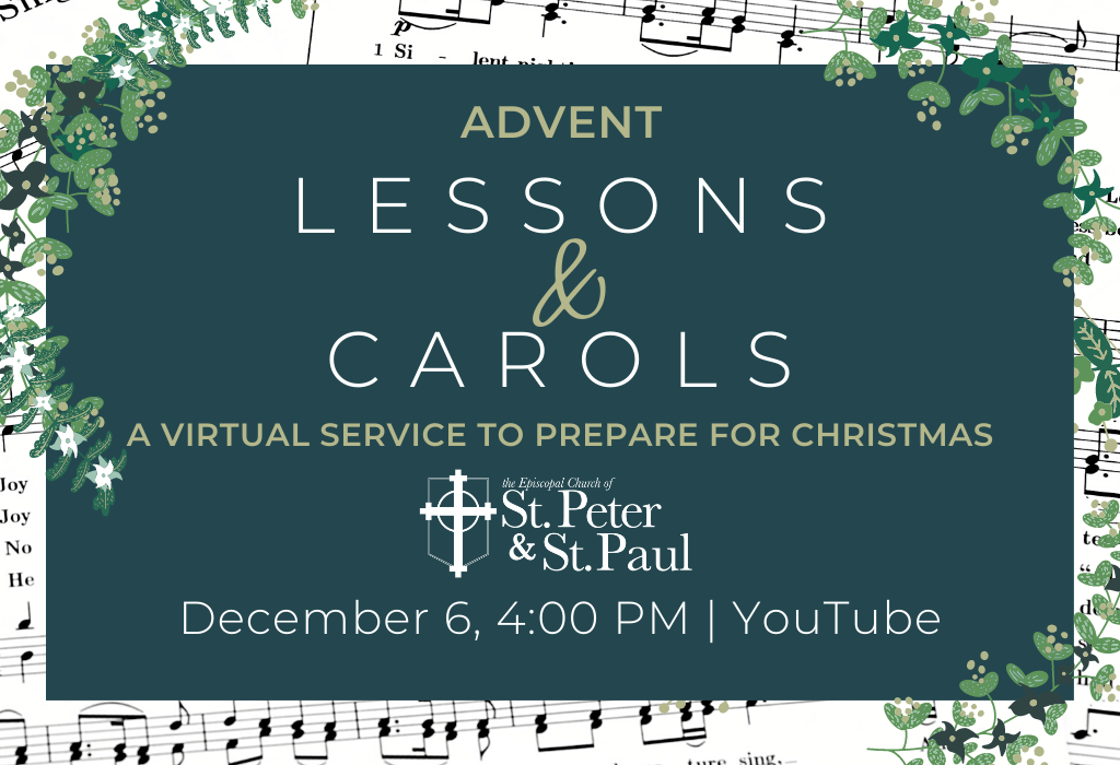 Click Here for the Service of Advent Lesson and Carols Recording