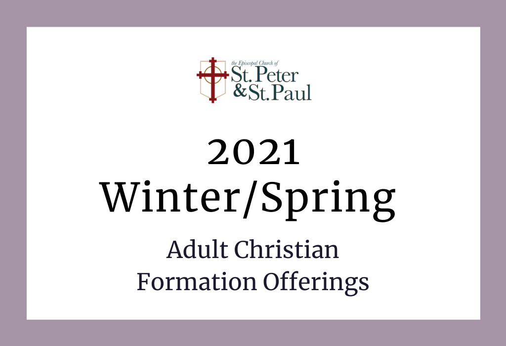 Click Here for Winter & Spring Offerings 2021