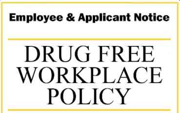 DLB Drug Free Workplace Policy
