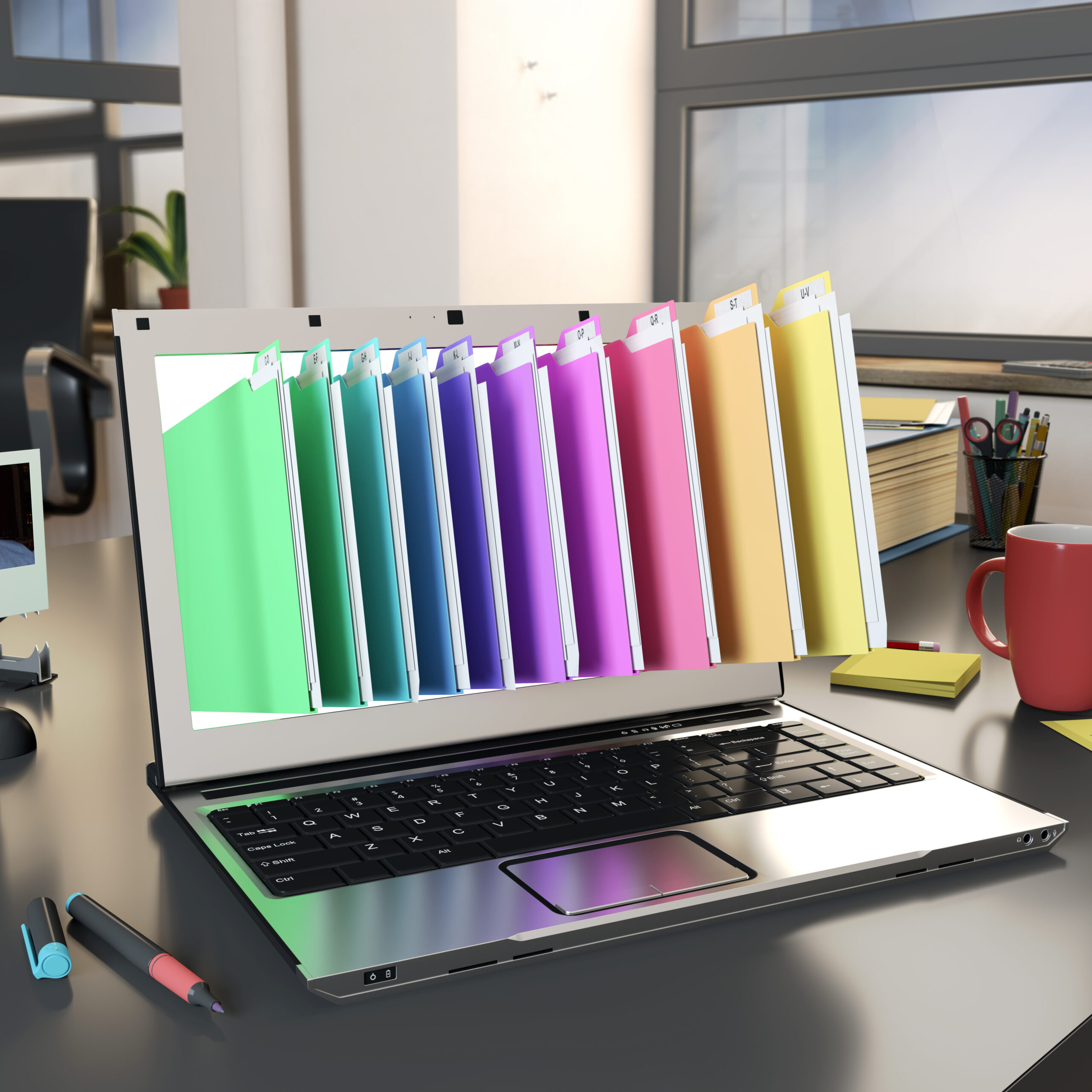 Electronic folders