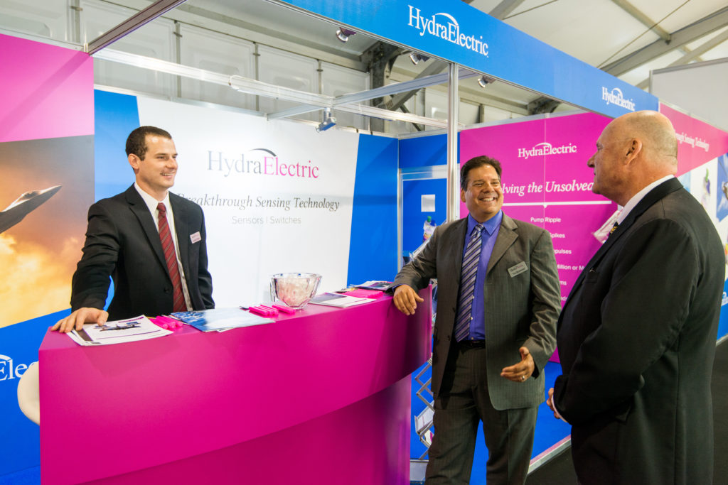 Hydra-Electric booth at FIA16