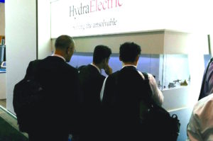 Hydra-Electric sensor and switch display case at #PAS2017