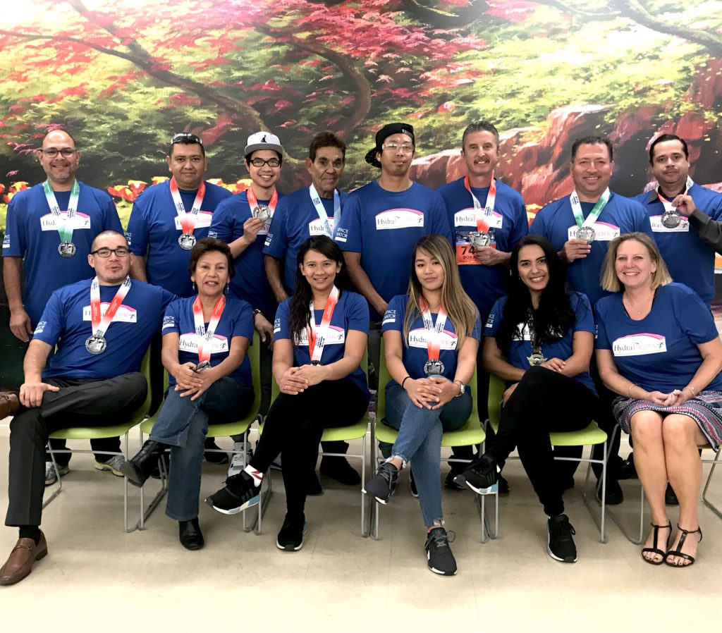 Hydra-Electric employees raise money for charity
