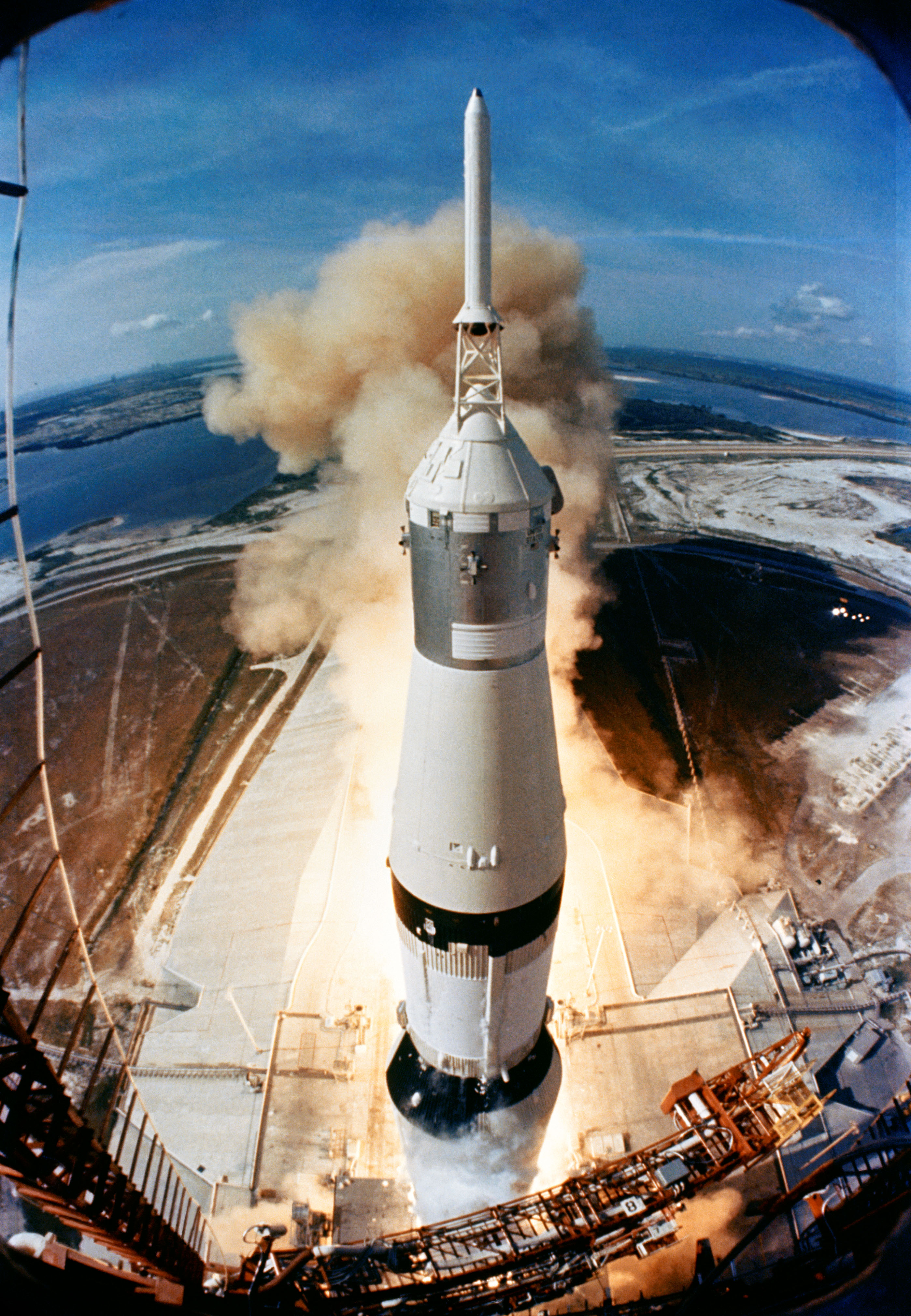 Hydra-Electric Switches on Historic 1969 Saturn V Rocket Launch of Apollo 11 Mission to Moon
