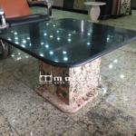 Granite Side Stool designed and produced by Maldini Granite and Marbles Nigeria LTD