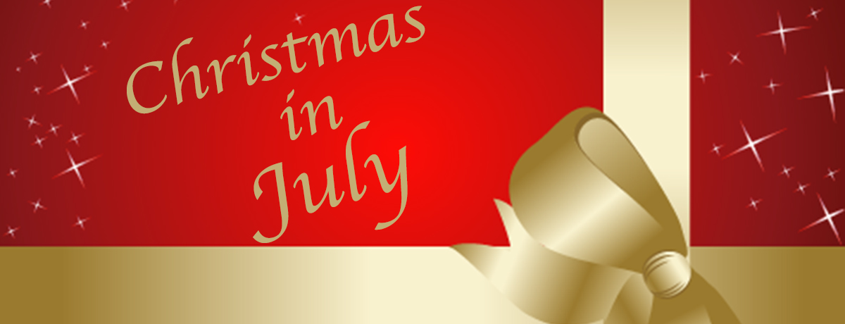 Christmas In July – Help Give Back Today